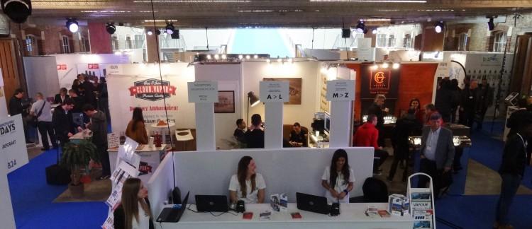 Salon professionnel de la e-cigarette