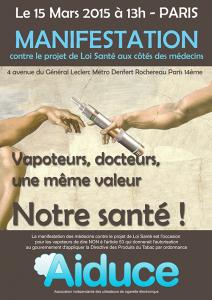 Manifestation Aiduce mars 2015