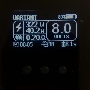 Variant box titanium Vicious Ant